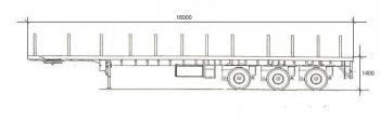 Способ погрузки.  Длинна площадки.  Грузоподъемность максимальная. неповоротные.  Схема транспортного средства.